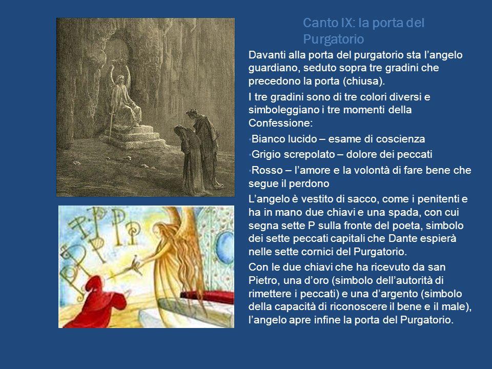 Canto IX: la porta del Purgatorio