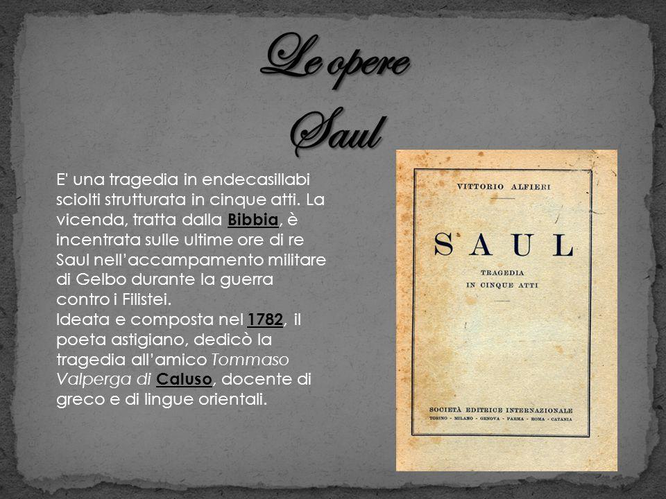 Le opere Saul