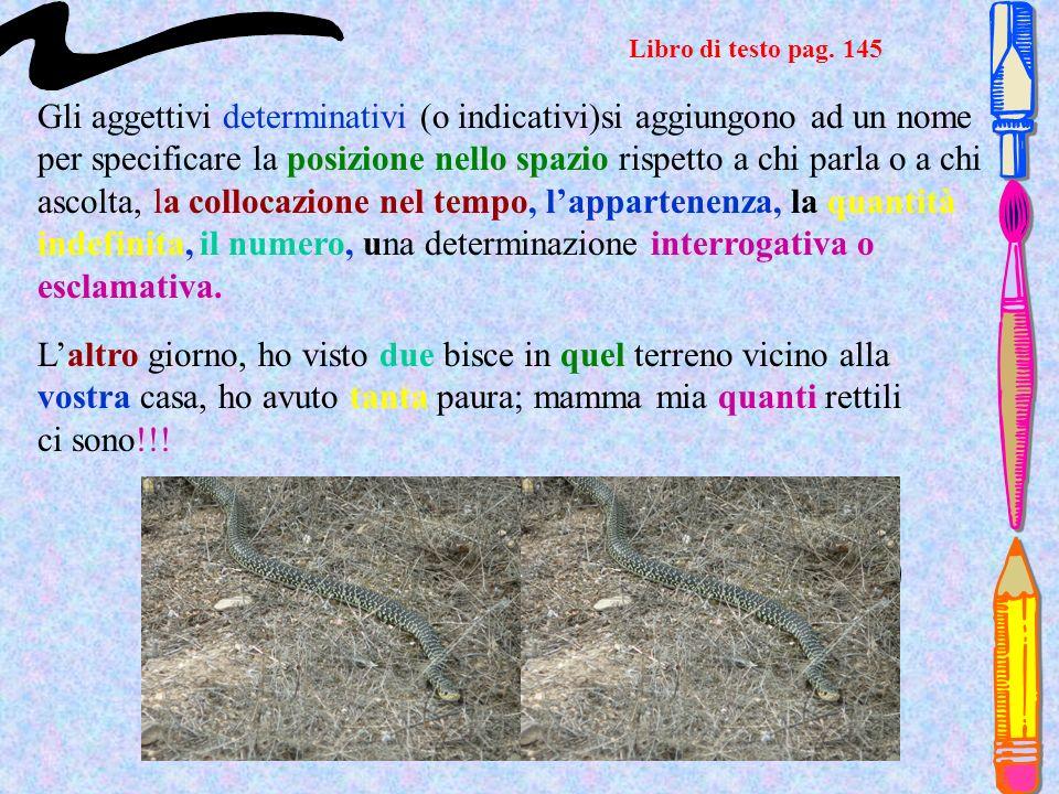 Libro di testo pag. 145