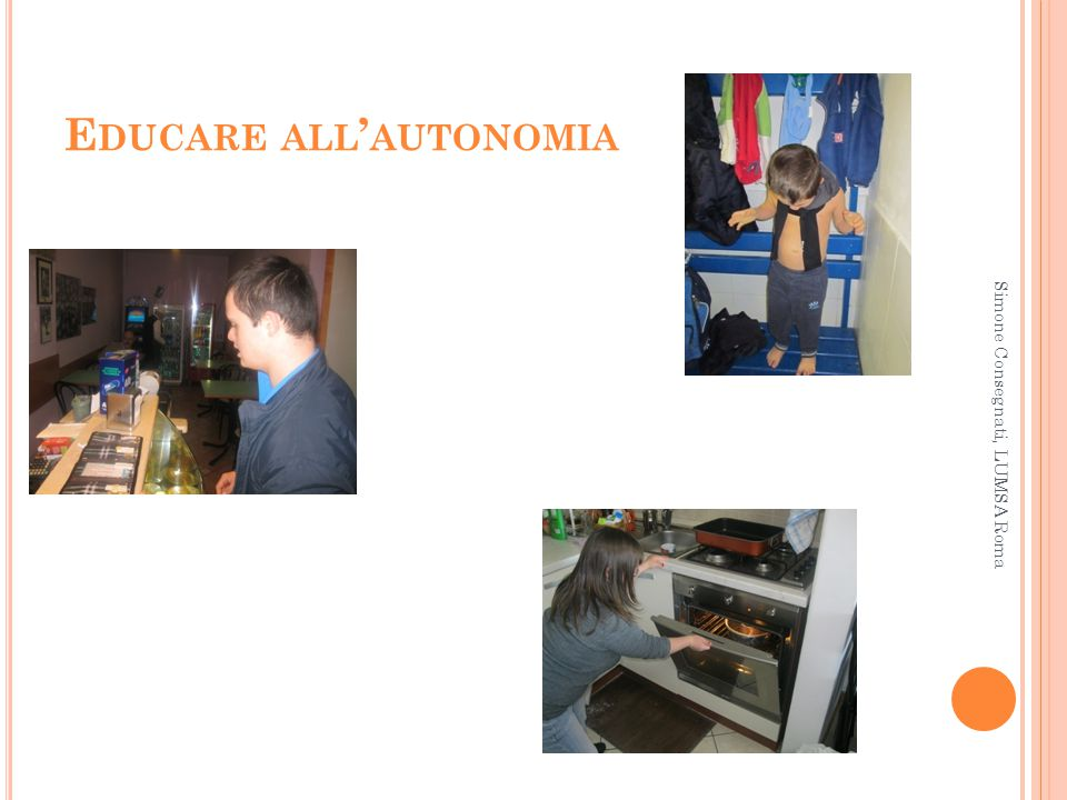 Educare all'autonomia