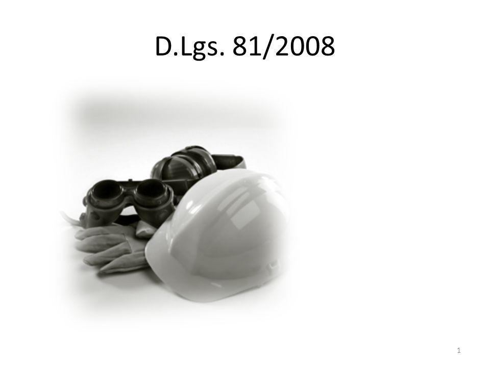 D.Lgs. 81/2008
