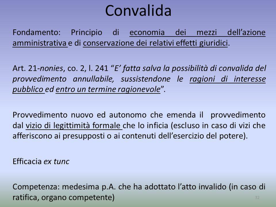 Convalida