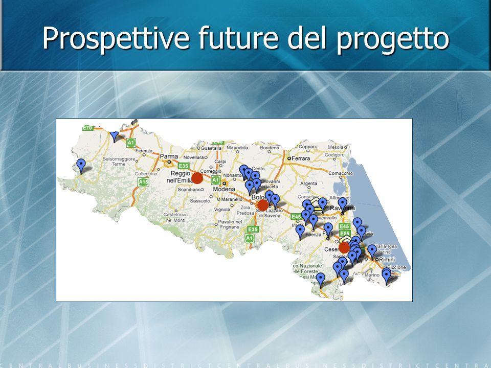 Prospettive future del progetto