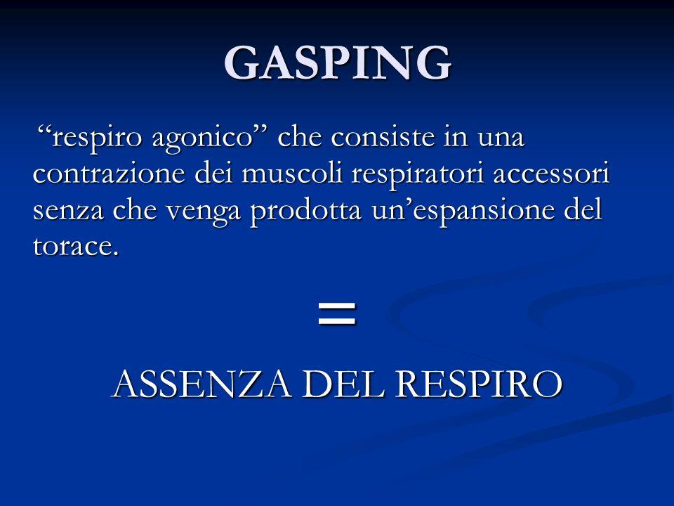 = GASPING ASSENZA DEL RESPIRO