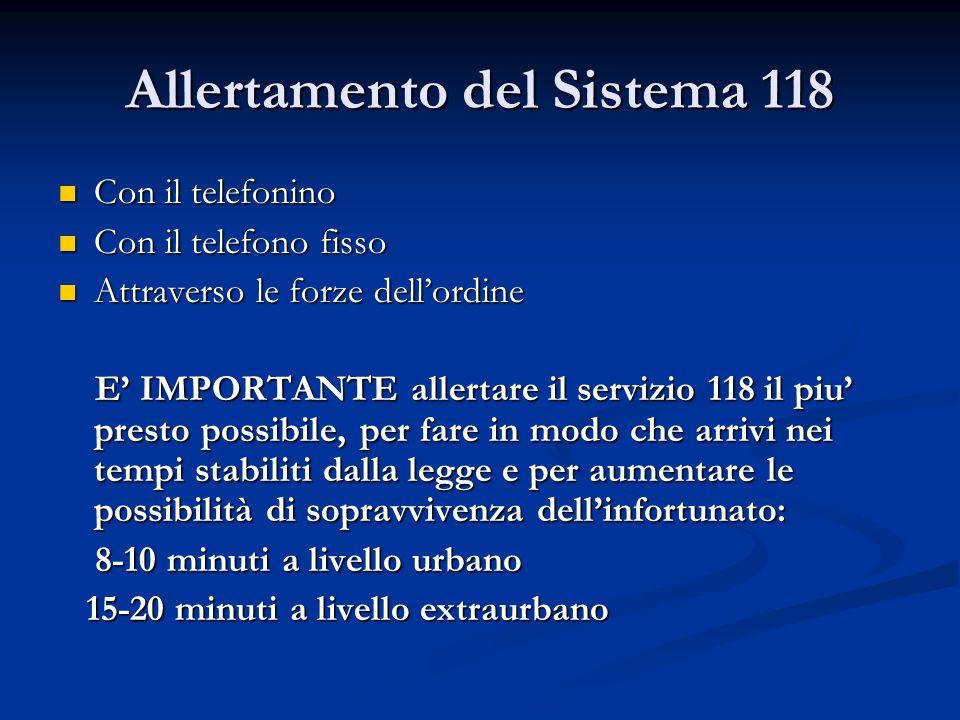 Allertamento del Sistema 118
