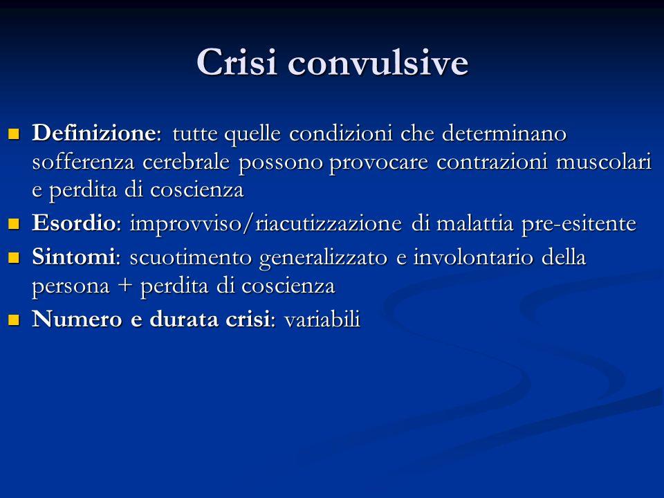 Crisi convulsive