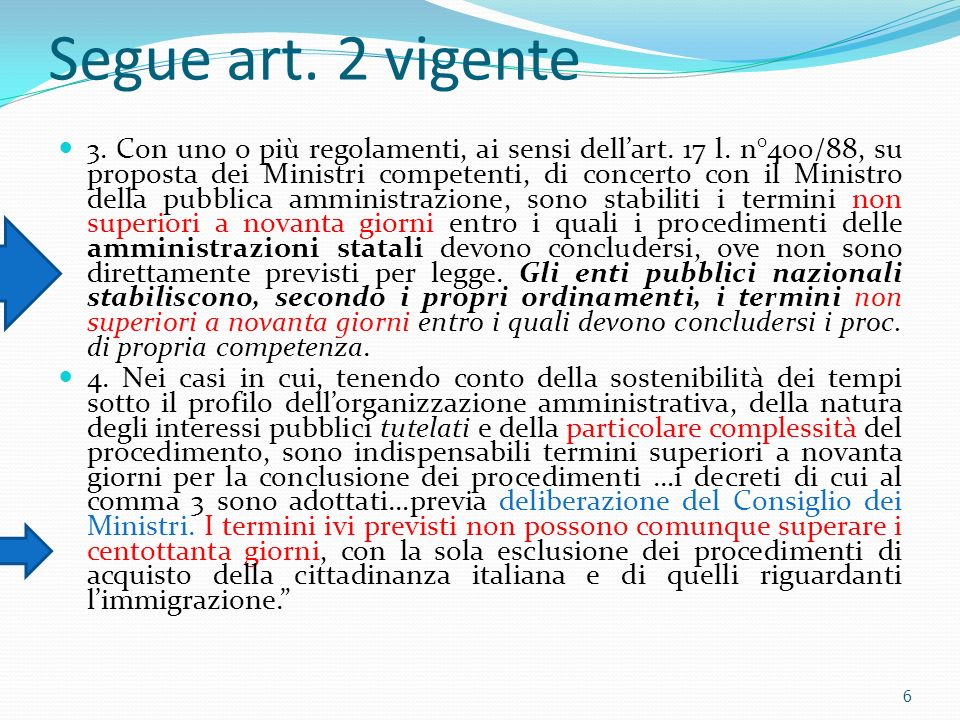 Segue art. 2 vigente