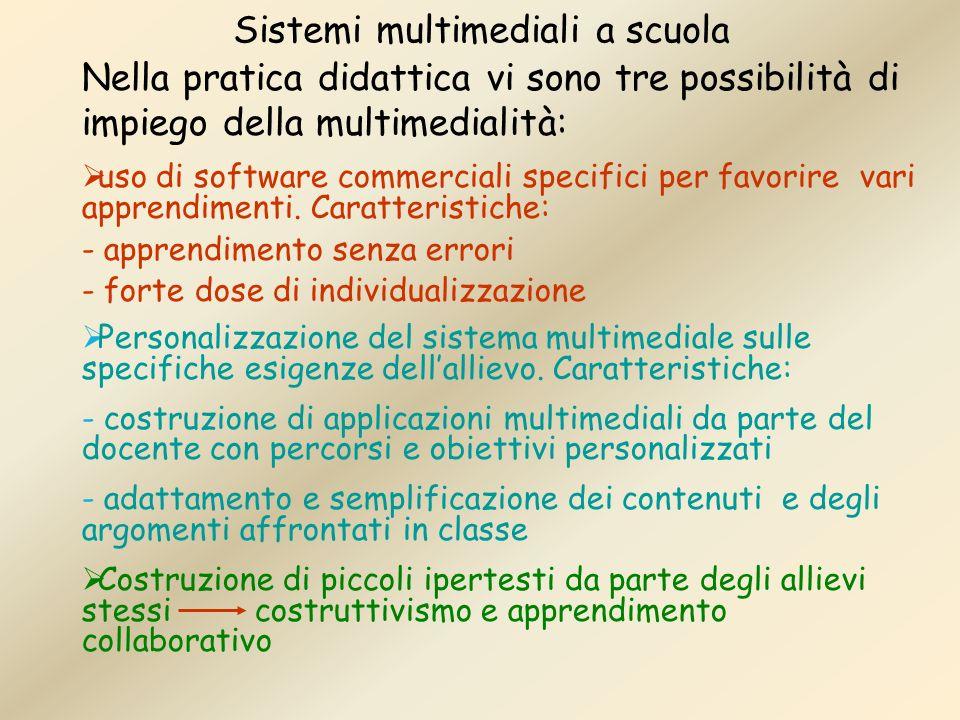 Sistemi multimediali a scuola