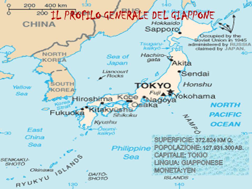 IL PROFILO GENERALE DEL GIAPPONE