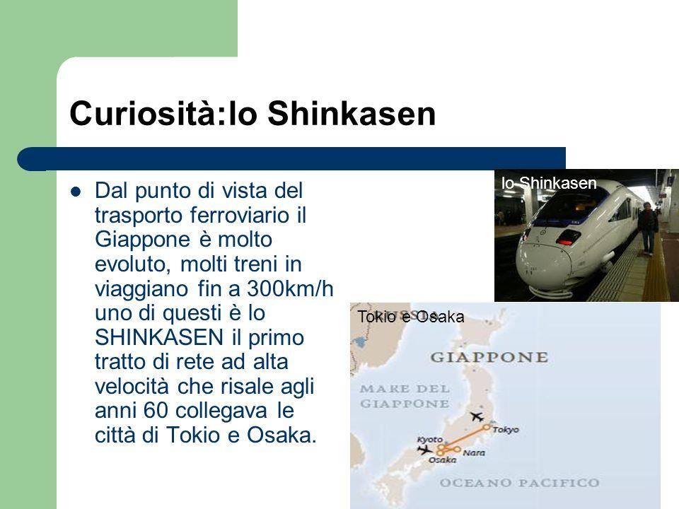 Curiosità:lo Shinkasen