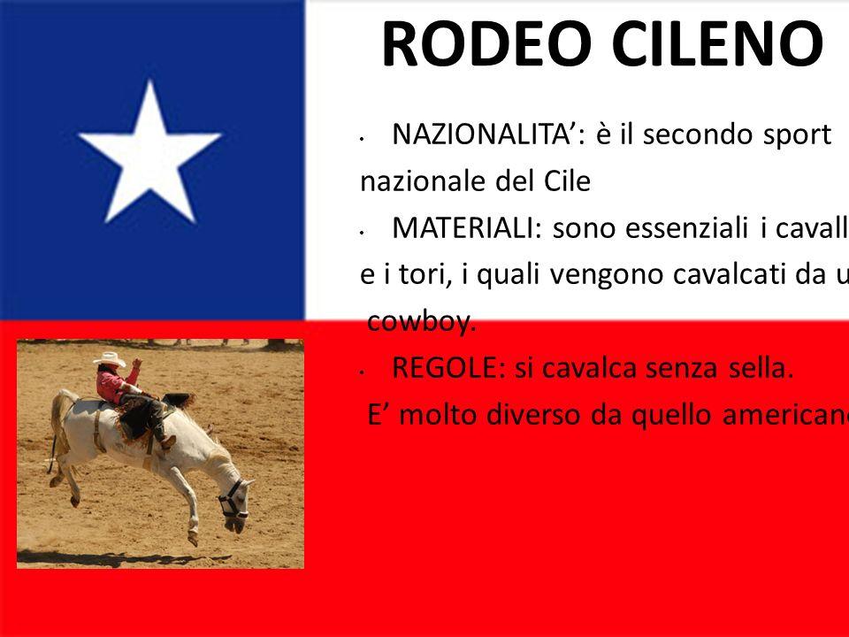 RODEO CILENO NAZIONALITA': è il secondo sport nazionale del Cile