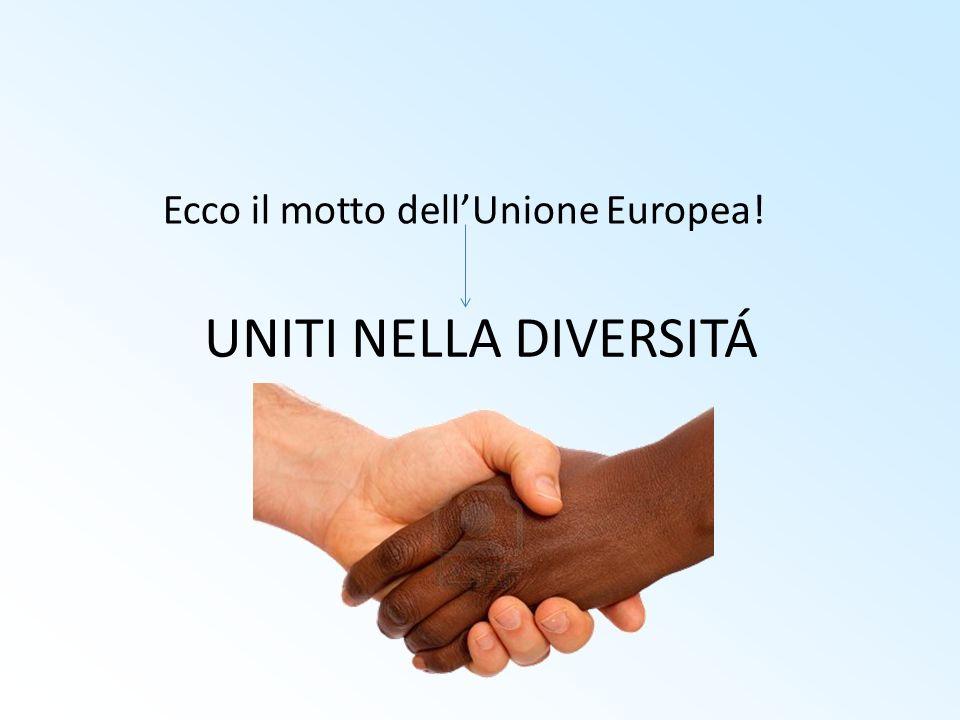 Ecco il motto dell'Unione Europea!