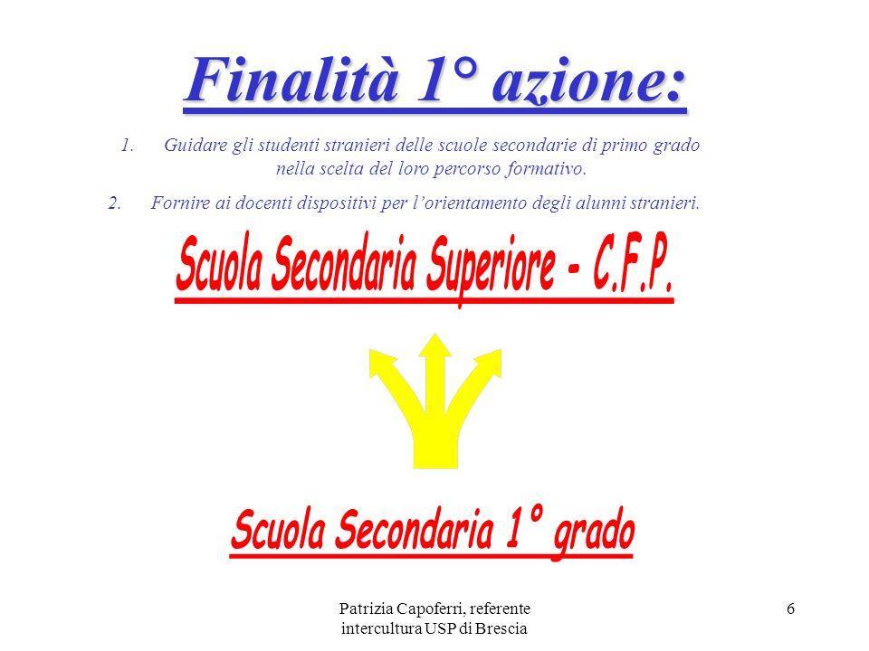 Scuola Secondaria Superiore - C.F.P. Scuola Secondaria 1° grado