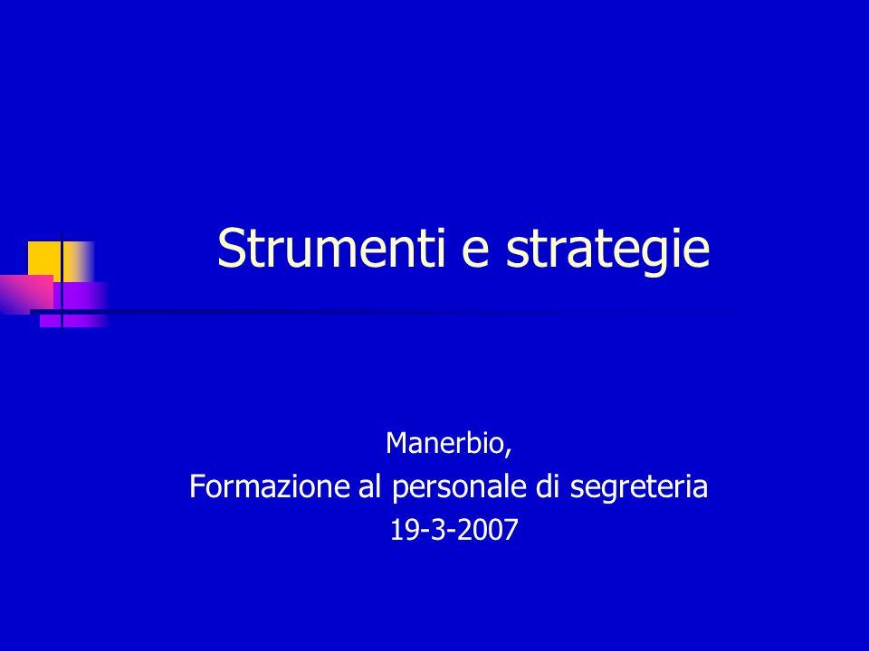 Manerbio, Formazione al personale di segreteria 19-3-2007