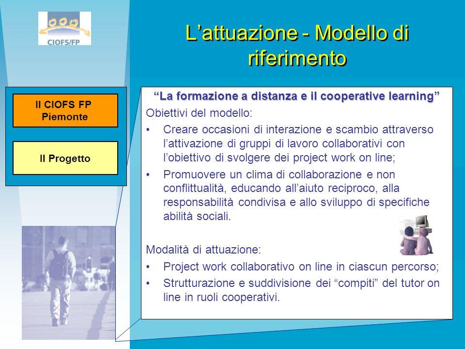 L'attuazione - Modello di riferimento