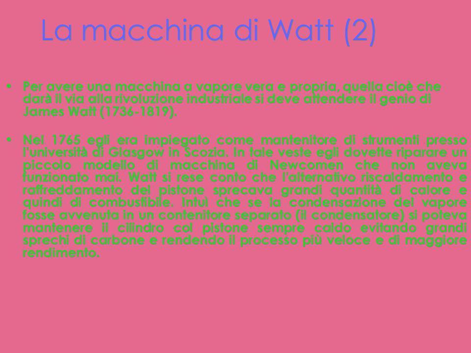 La macchina di Watt (2)
