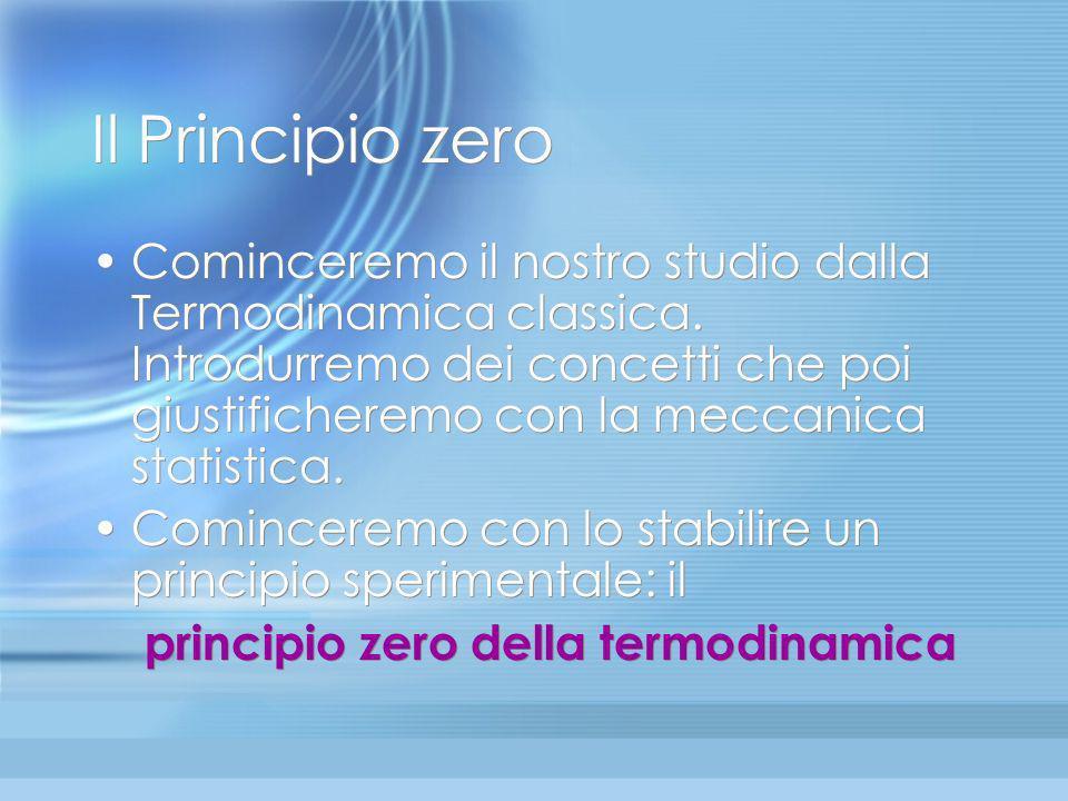 Il Principio zero
