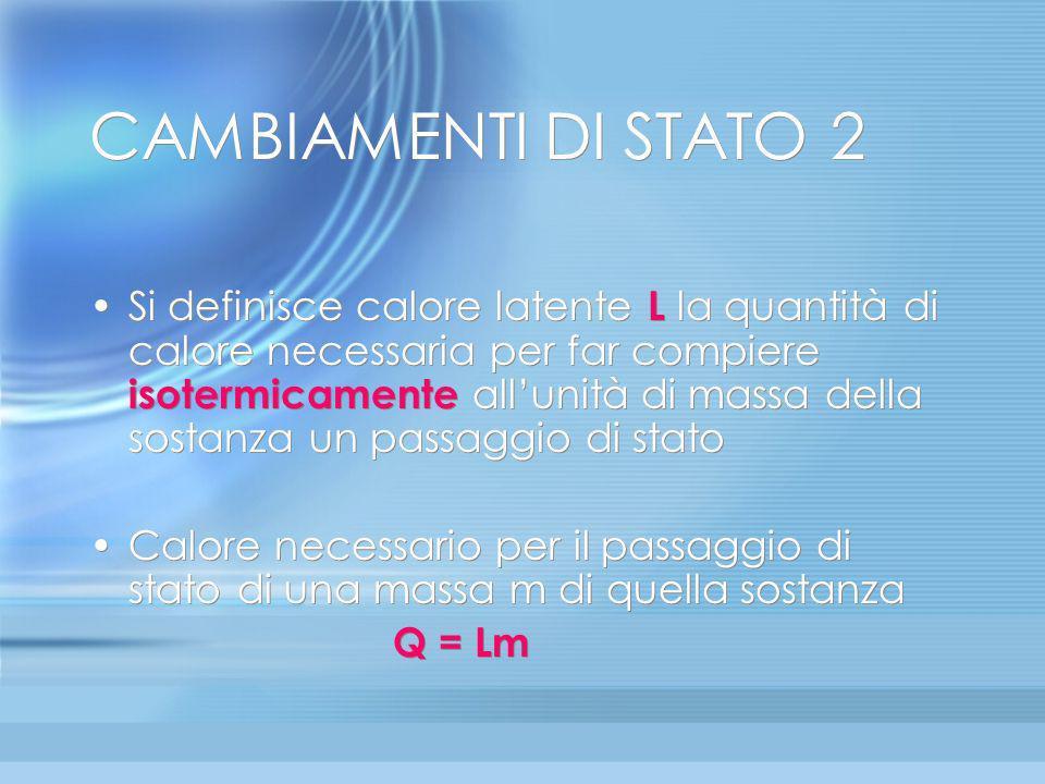 CAMBIAMENTI DI STATO 2