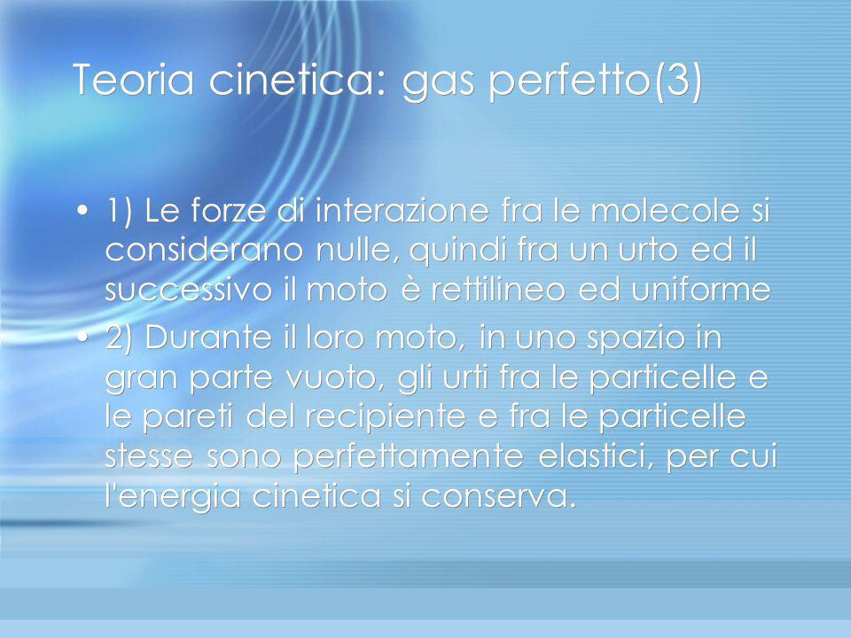 Teoria cinetica: gas perfetto(3)