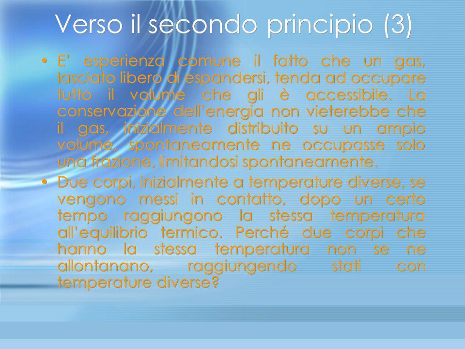 Verso il secondo principio (3)