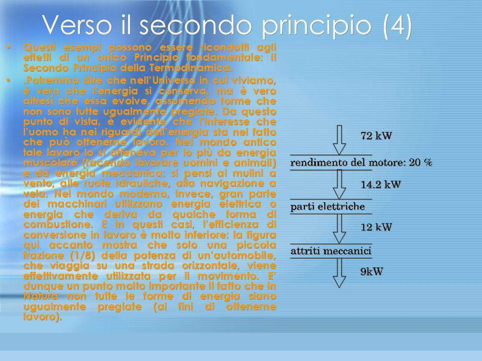 Verso il secondo principio (4)