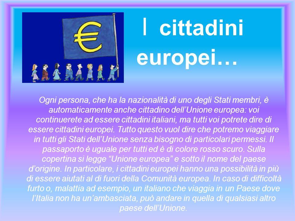 I cittadini. europei…