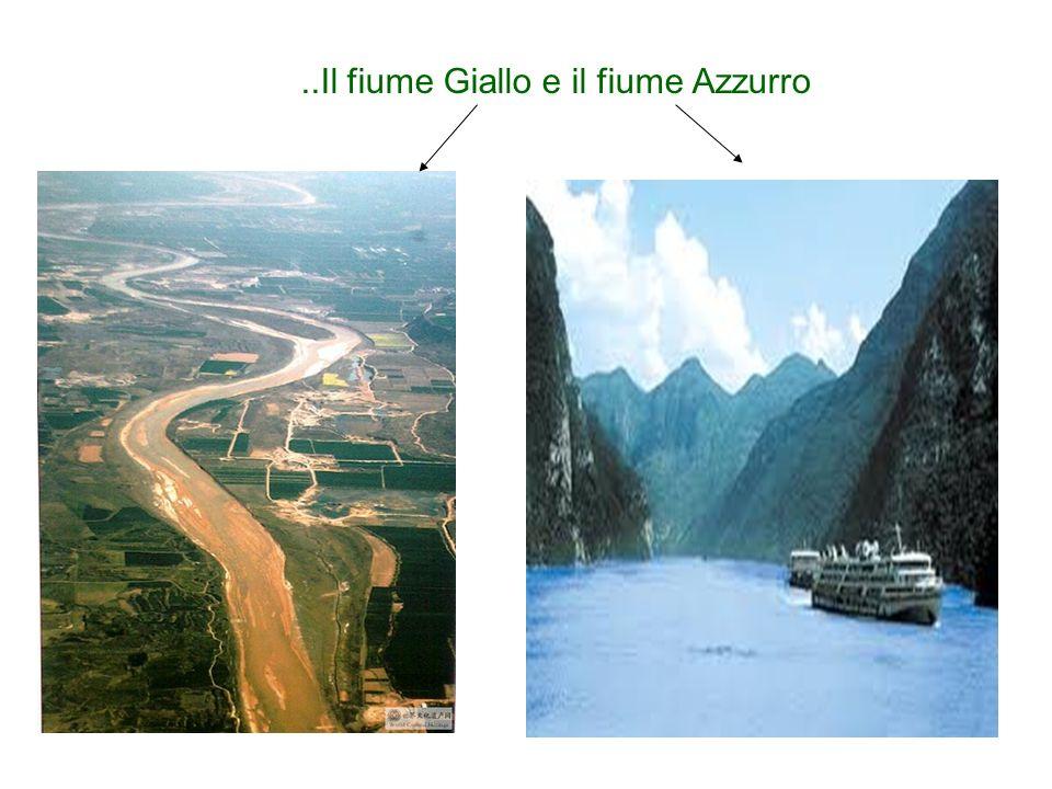 ..Il fiume Giallo e il fiume Azzurro