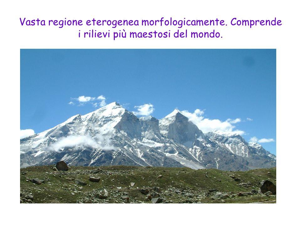 Vasta regione eterogenea morfologicamente