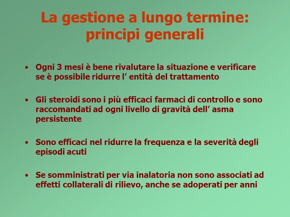 La gestione a lungo termine: principi generali