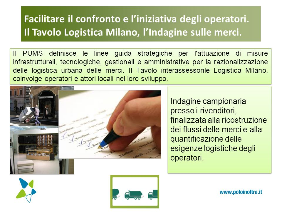 Facilitare il confronto e l'iniziativa degli operatori.