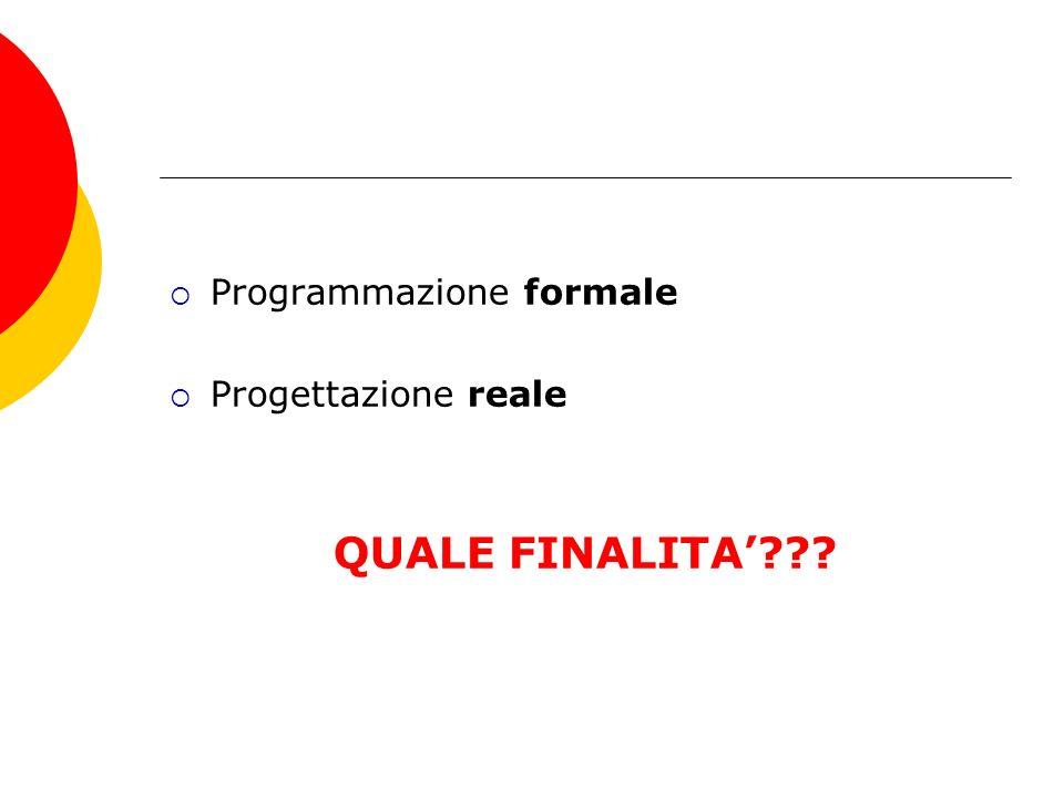 Programmazione formale