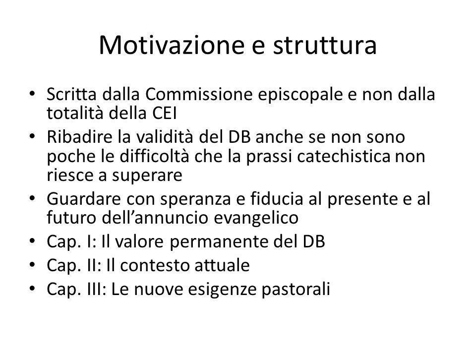 Motivazione e struttura