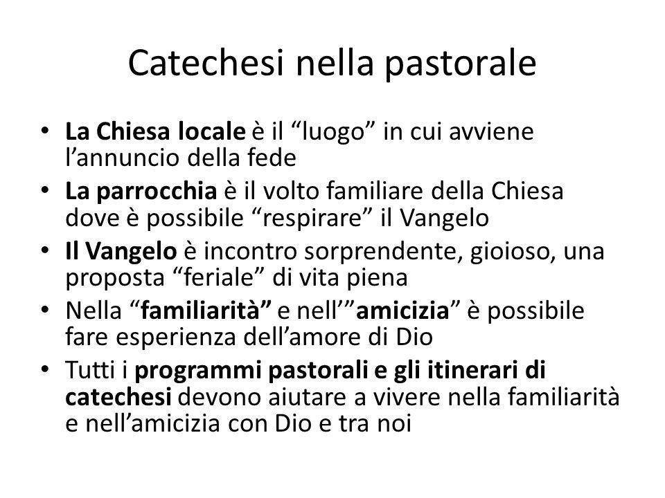 Catechesi nella pastorale