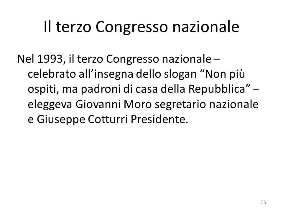 Il terzo Congresso nazionale