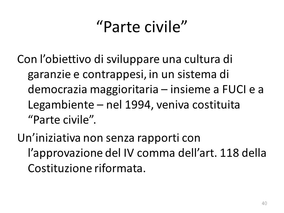 Parte civile