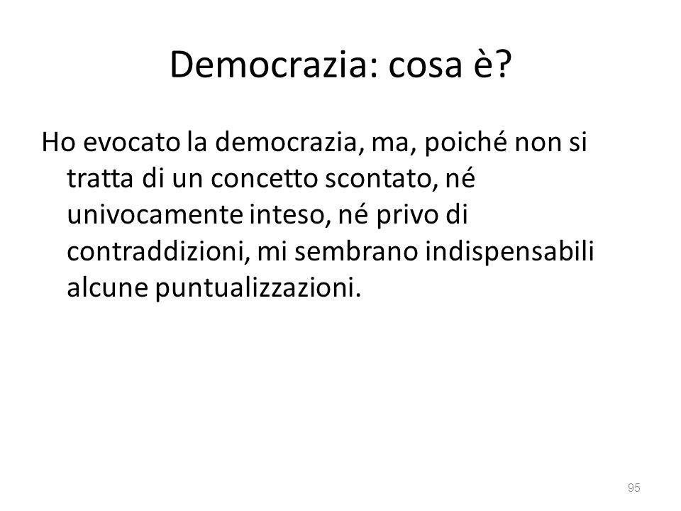 Democrazia: cosa è