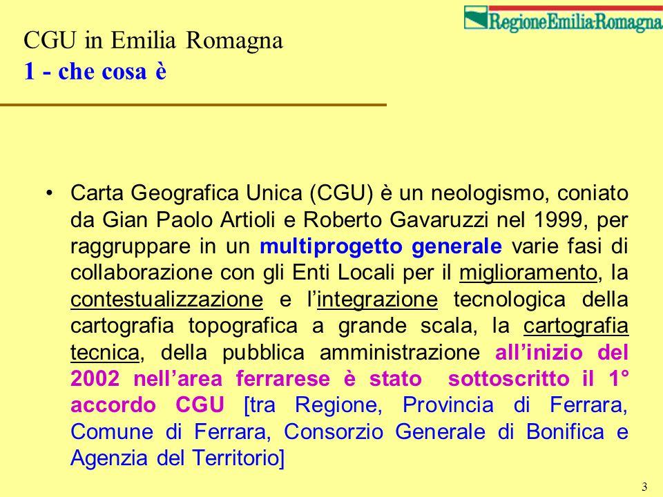 CGU in Emilia Romagna 1 - che cosa è