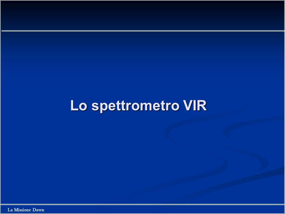 Lo spettrometro VIR