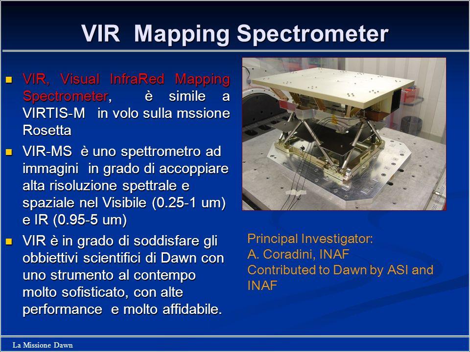 VIR Mapping Spectrometer