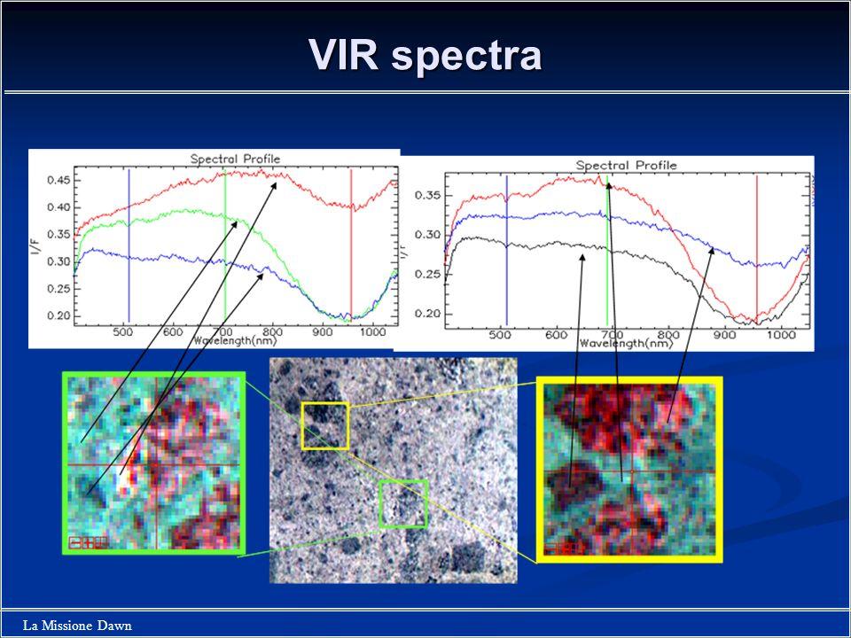 VIR spectra