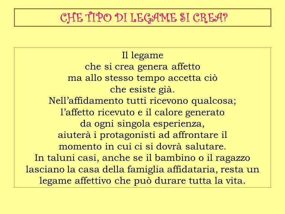 CHE TIPO DI LEGAME SI CREA