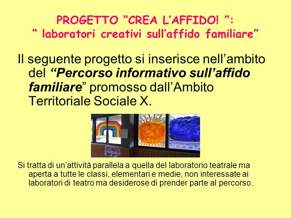 PROGETTO CREA L'AFFIDO
