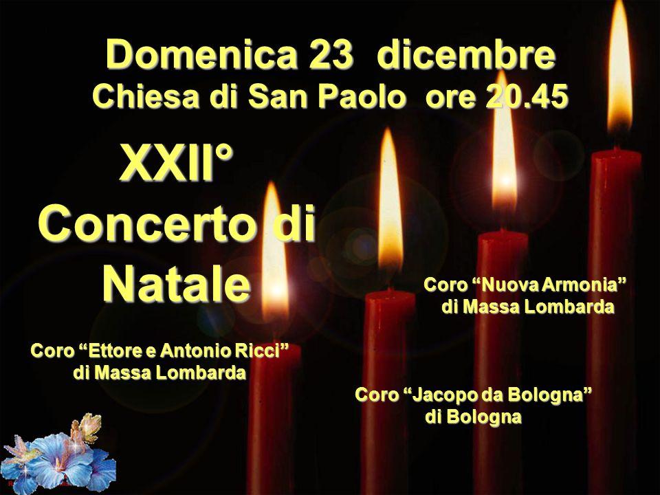 XXII° Concerto di Natale