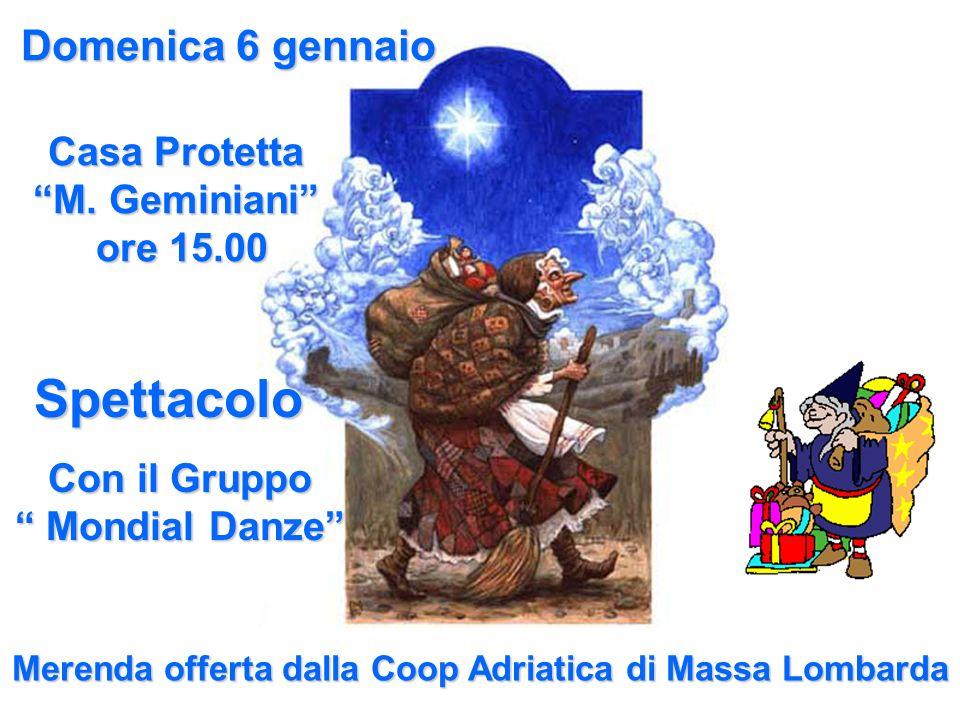 Merenda offerta dalla Coop Adriatica di Massa Lombarda