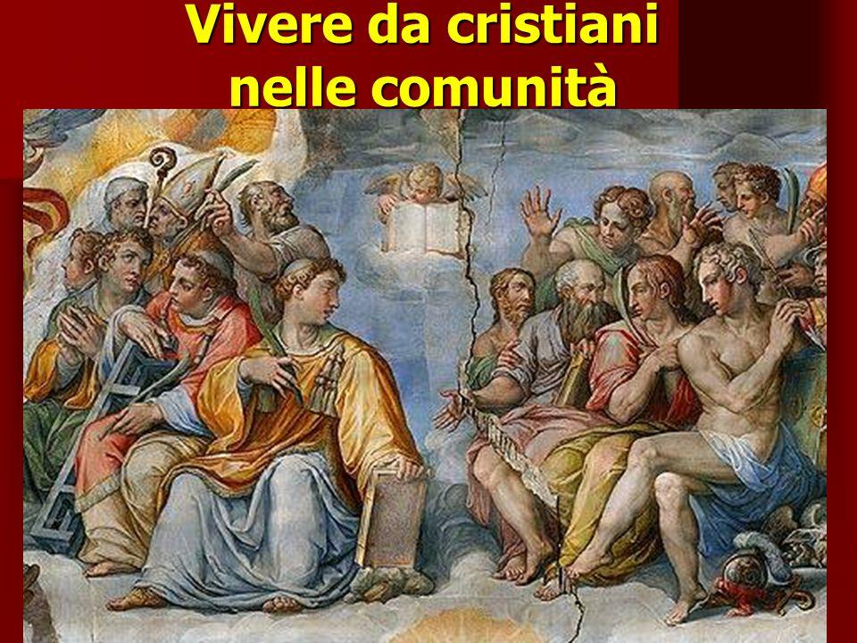 Vivere da cristiani nelle comunità