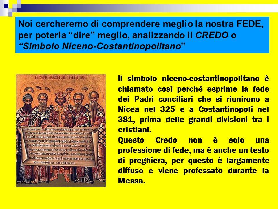 Simbolo Niceno-Costantinopolitano