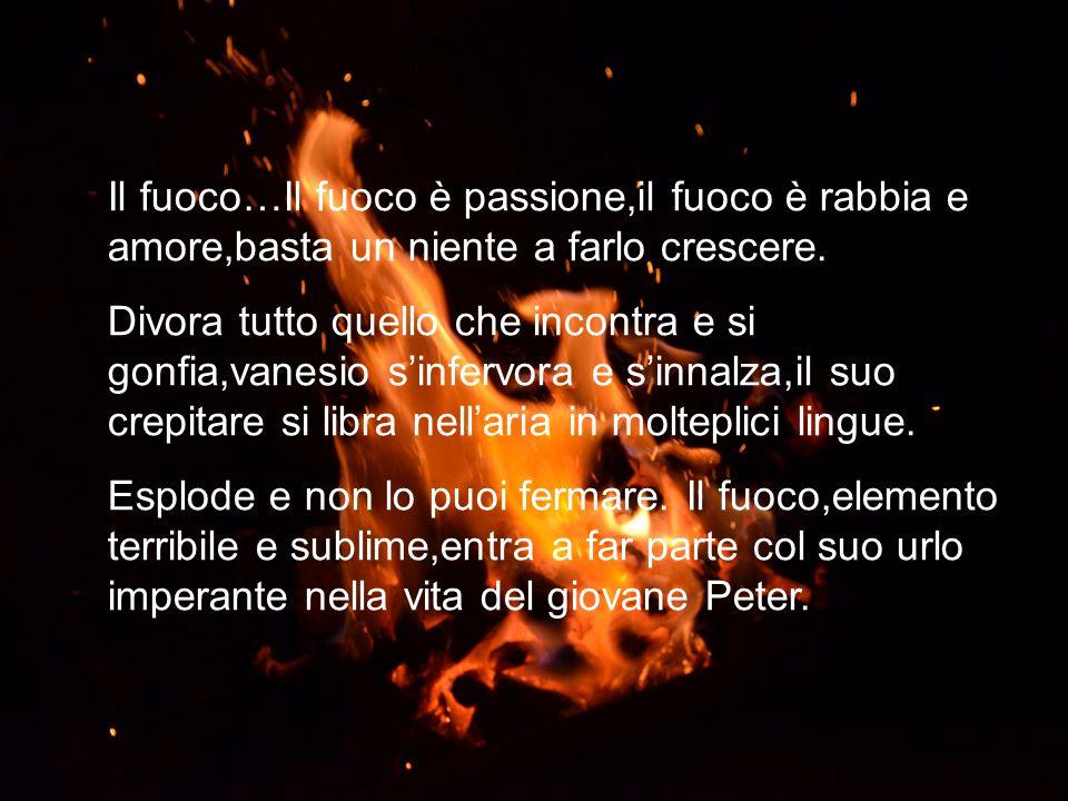 Il fuoco…Il fuoco è passione,il fuoco è rabbia e amore,basta un niente a farlo crescere.