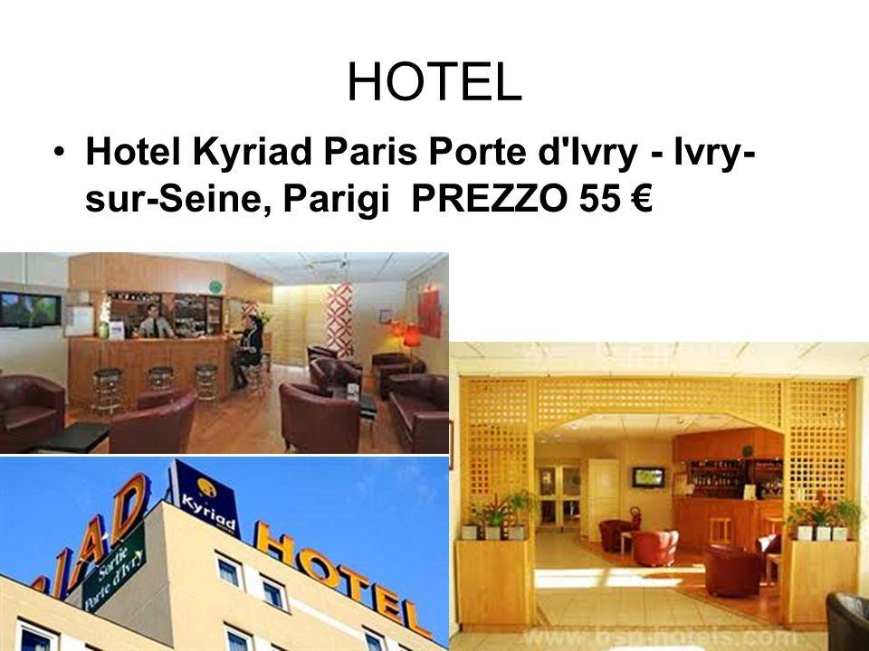 HOTEL Hotel Kyriad Paris Porte d Ivry - Ivry-sur-Seine, Parigi PREZZO 55 €