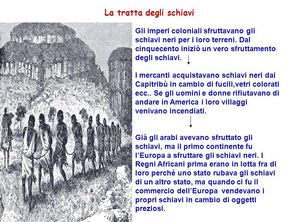 La tratta degli schiavi