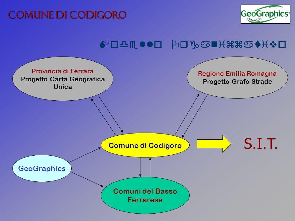 S.I.T. COMUNE DI CODIGORO Modello Organizzativo Comune di Codigoro